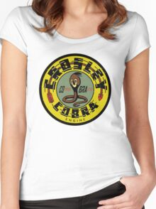 Crosley Cobra Engine vintage sign Women's Fitted Scoop T-Shirt