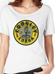 Crosley Cobra Engine vintage sign Women's Relaxed Fit T-Shirt