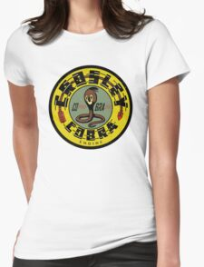 Crosley Cobra Engine vintage sign Womens Fitted T-Shirt