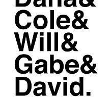 Dana & Cole & Will & Gabe & David. by Samantha Weldon