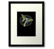 Archaeopteryx (the fire breathing kind) Framed Print