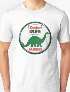 Sinclair Dino Gasoline vintage sign crystal vers. Unisex T-Shirt