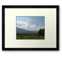 Spacious Skies  Framed Print