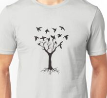 Tree of birds Unisex T-Shirt