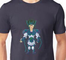 Peacock Shiva - Saint Seya Pixel Art Unisex T-Shirt