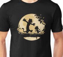 Cal-vin & Ho-bbes Halloween T-shirt Unisex T-Shirt