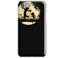 Cal-vin & Ho-bbes Halloween T-shirt iPhone Case/Skin