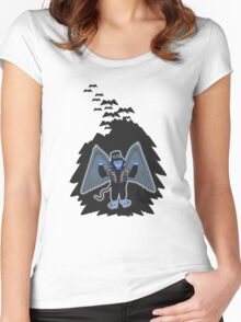 whatever happened to those cute flying monkeys? Women's Fitted Scoop T-Shirt