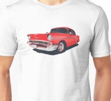 Chevy Bel Air 57 vector illustration Unisex T-Shirt