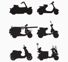 History of Vespa by Tessai-Attire