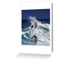 North Shore Surfers 2 Greeting Card