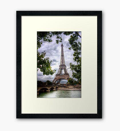 Eiffel Tower Framed Framed Print