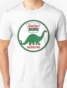 Sinclair Dino Gasoline vintage sign flat version T-Shirt