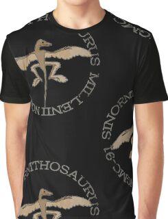 Sinornithosaurus Millenii NGMC-91 Graphic T-Shirt