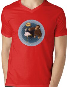 Crane Style Versus Monkey Fist Mens V-Neck T-Shirt