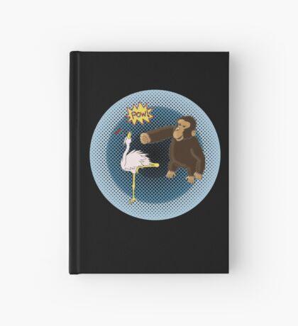 Crane Style Versus Monkey Fist Hardcover Journal