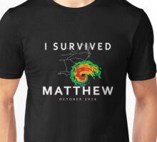Hurricane Matthew New Tee I Survived Hurricane Matthew 2016 Unisex T-Shirt