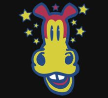 Smiling Cartoon Horse by Cheerful Madness  by cheerfulmadness