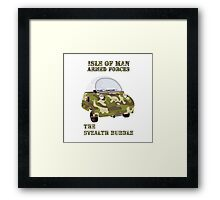 The Stealth Bubble Framed Print