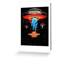 Boston 40th Anniversary Greeting Card