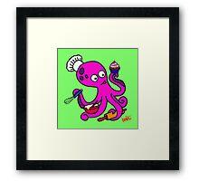 Baker Octopus  Framed Print