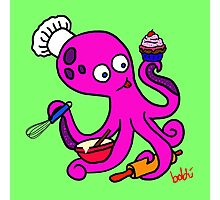 Baker Octopus  Photographic Print