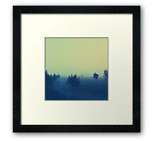 Foggy Day Framed Print