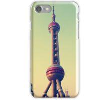 Pearl Tower Shanghai iPhone Case/Skin