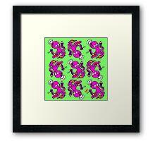 Baker Octopus Pattern Framed Print