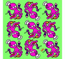 Baker Octopus Pattern Photographic Print