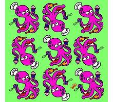 Baker Octopus Pattern Photographic Print