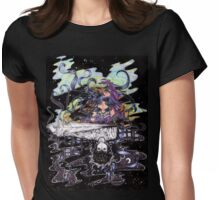 Fantasy or Reality?  Womens Fitted T-Shirt