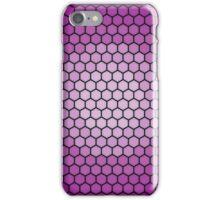vivid hexagons iPhone Case/Skin