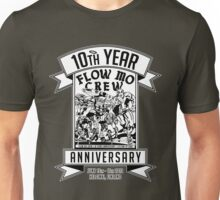 "Flow Mo 10th Year Anniversary ""SUPER HEROES"" Shirt Unisex T-Shirt"