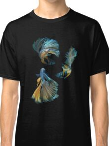 Blue Siamese Betta Fish Classic T-Shirt