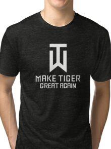 Make Tiger Great Again Tee Tri-blend T-Shirt