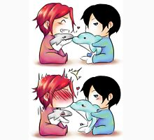 Dolphin kiss - RinHaru Unisex T-Shirt
