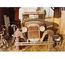 """""""Tin Lizzie, Color Version""""... prints and products Photographic Print"""