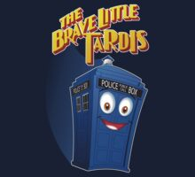 Brave Little Tardis T-Shirt