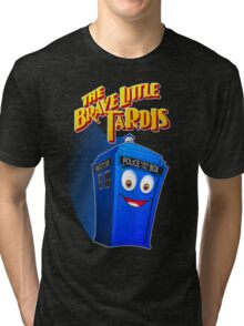 Brave Little Tardis Tri-blend T-Shirt
