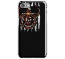 15Th Anniversary September 11 - Firefighter Shirt iPhone Case/Skin
