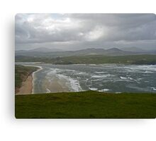 Stormy Day at Five Finger Bay Canvas Print