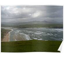 Stormy Day at Five Finger Bay Poster
