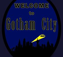 Batman - Welcome to Gotham City by Mellark90
