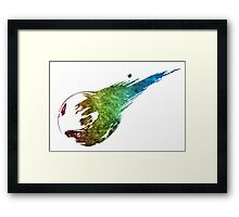 °FINAL FANTASY° Final Fantasy VII Rainbow Logo  Framed Print