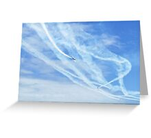 Snowbirds Greeting Card