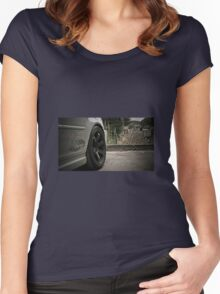 EJR Competition, BMW M3 E46 Women's Fitted Scoop T-Shirt