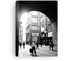 London alley Canvas Print