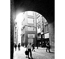 London alley Photographic Print