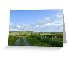 Road to nowhere, Coll Greeting Card